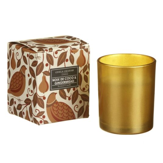Noix De Coco & Gingerbread Small Boxed Candle