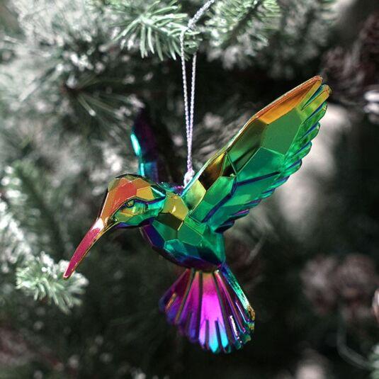 Assorted Hummingbird Tree Decoration