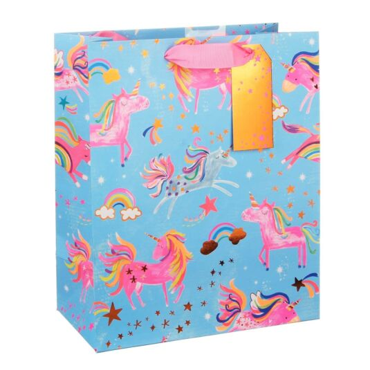 Fun Unicorns Large Gift Bag