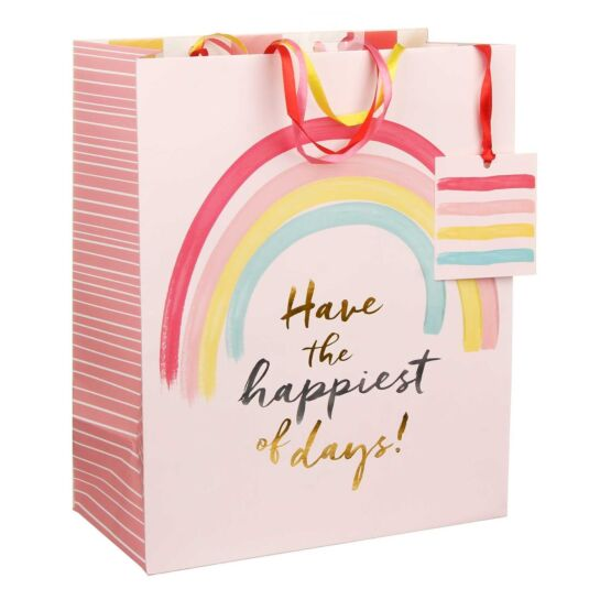 Happiest of Days Large Gift Bag