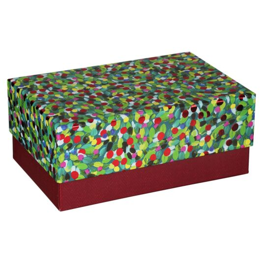 Large 'Christmas Foliage' Gift Box