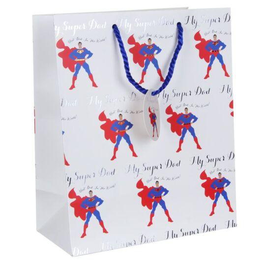 Super Dad Large Gift Bag