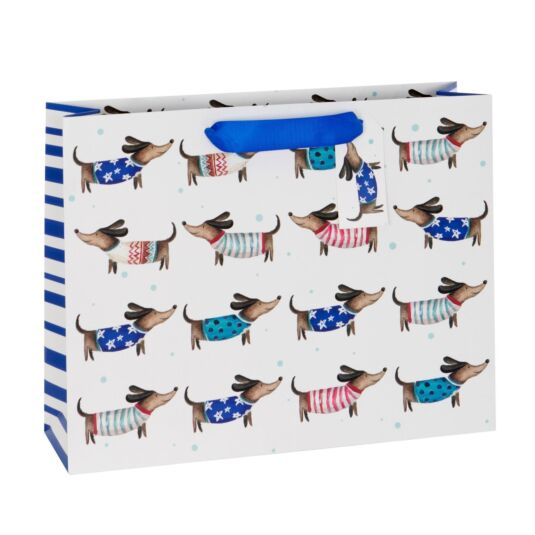 Man's Best Friend Large Gift Bag
