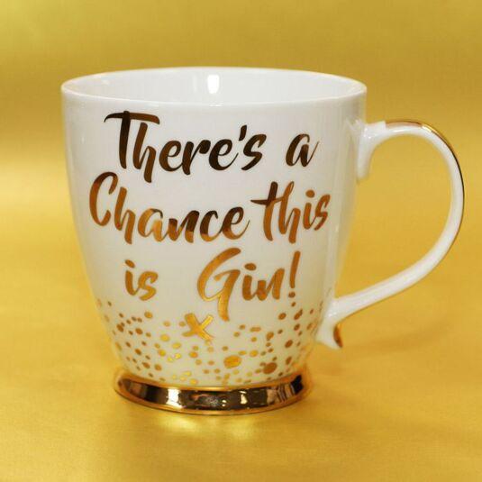 Gold Edition 'This is Gin' Boxed Mug