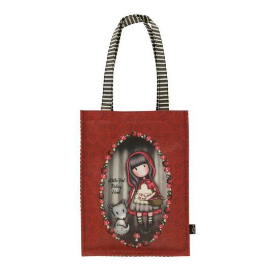 Little Red Riding Hood Coated Shopper Bag