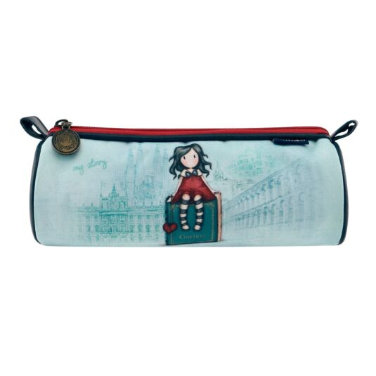 Cityscape My Story Round Pencil Case