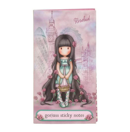 Cityscape Rosebud Book of Sticky Notes