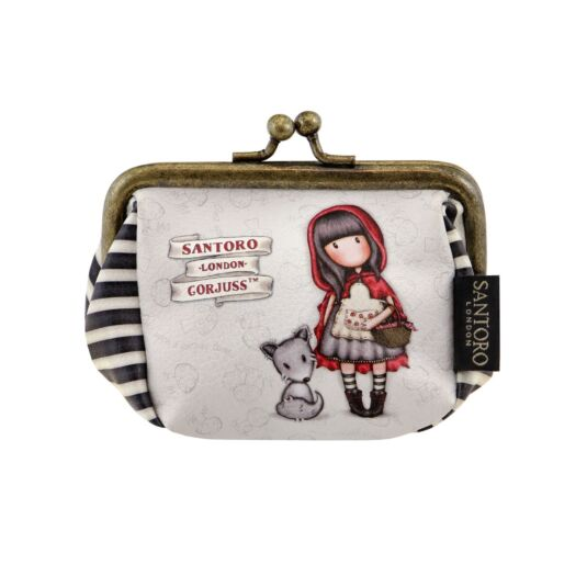 Little Red Riding Hood Puffy Clasp Purse