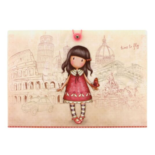 Cityscape Time To Fly Concertina Folder