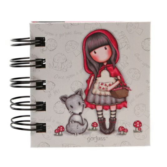 Little Red Riding Hood Wirobound Book of Sticky Notes