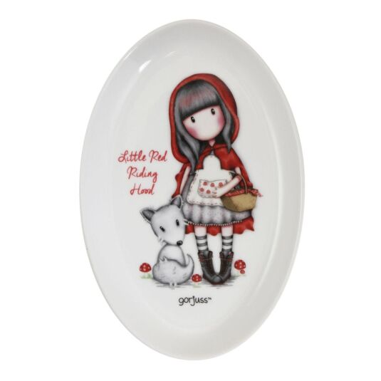 Little Red Riding Hood Ceramic Trinket Tray
