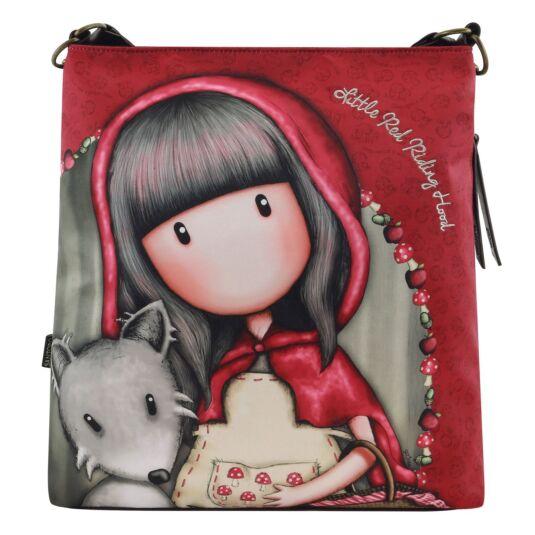 Little Red Riding Hood Large Hobo Bag