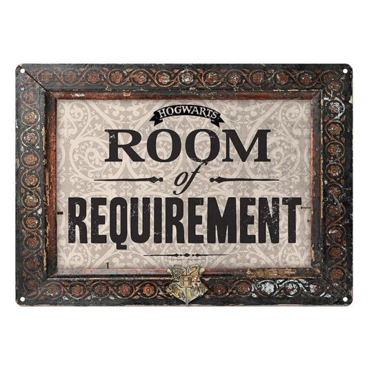 Room Of Requirement Wall Sign