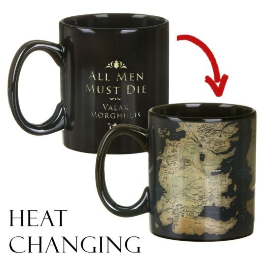 Map Heat Changing Mug