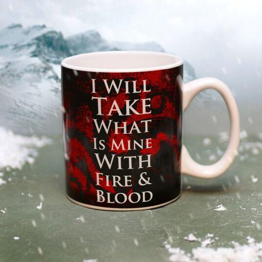 Daenerys Targaryen Heat Changing Mug