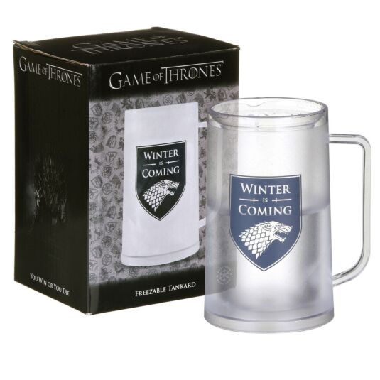 'Winter Is Coming' Freezable Tankard