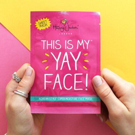 'Yay Face!' Moisturising Face Mask