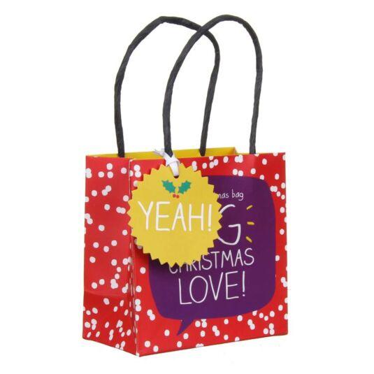 Big Christmas Love Small Gift Bag