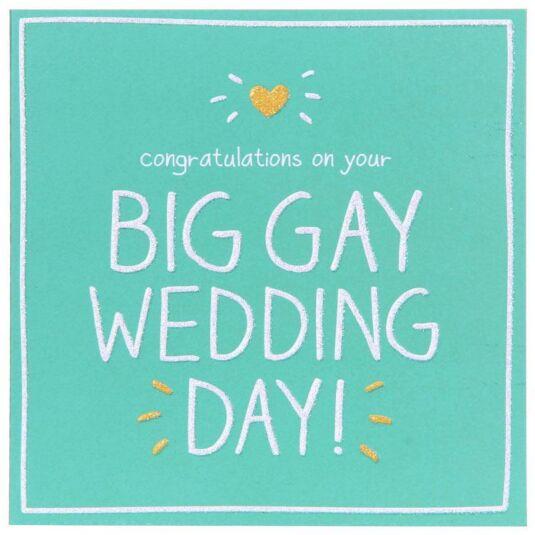 Big Gay Wedding Day