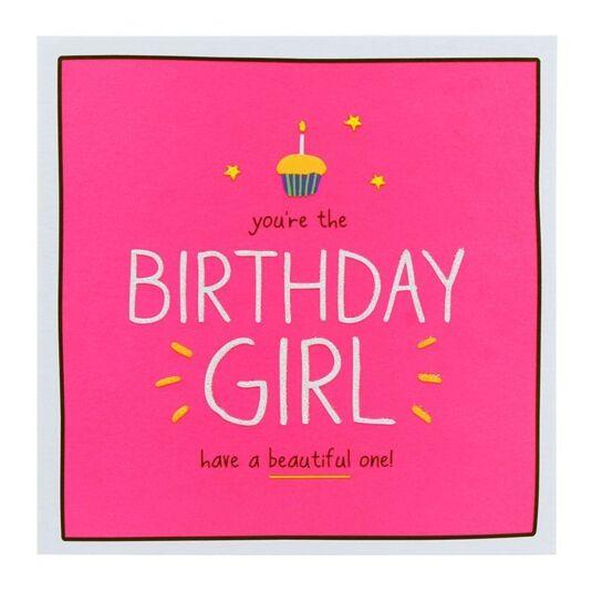 'Birthday Girl' Birthday Card