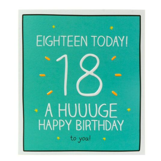 '18 Today!' Card