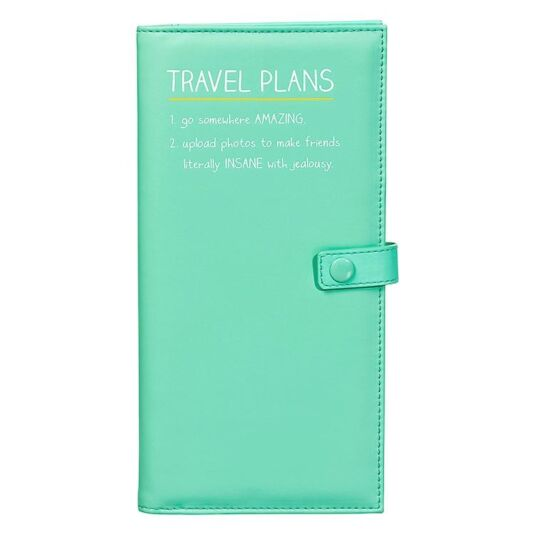 Travel Plans Travel Wallet