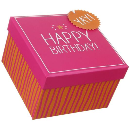 Happy Birthday Medium Gift Box