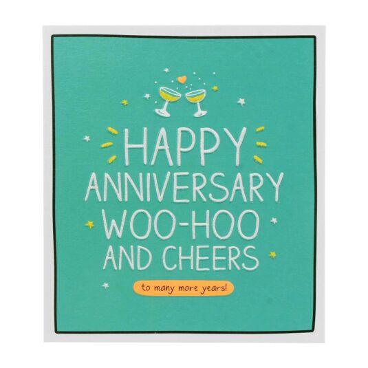 Anni WooHoo And Cheers Card