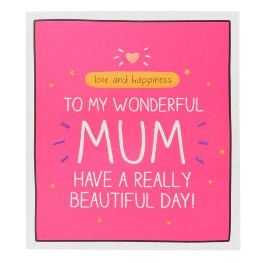 'My Wonderful Mum' Card