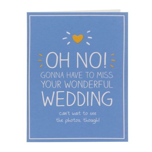 Wedding Regret Small Card