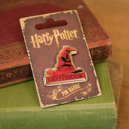 Gryffindor Sorting Hat Enamel Pin Badge