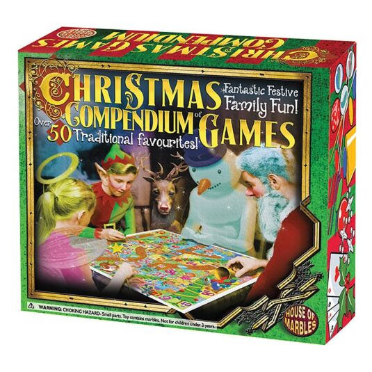 Christmas Compendium of Tabletop Games