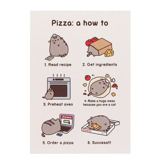 Pizza: a how to Card