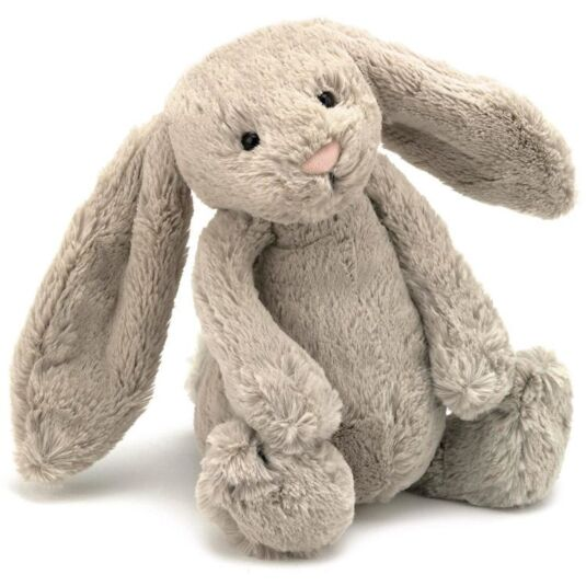 Medium Beige Bashful Bunny