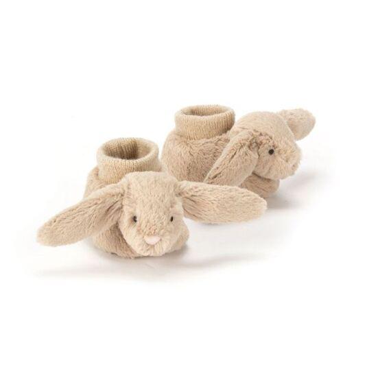 Beige Bashful Bunny Booties