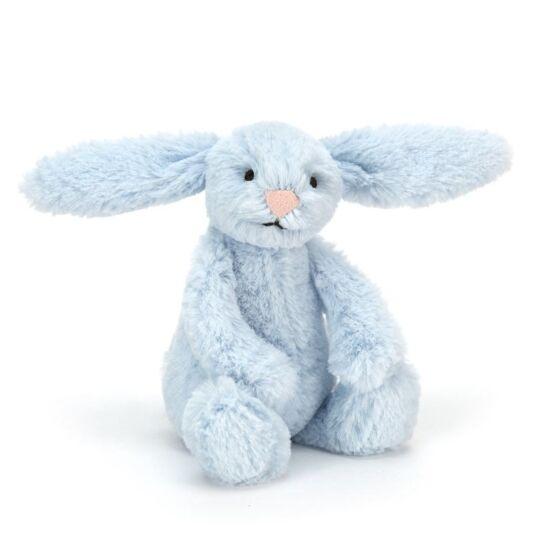 Baby Bashful Blue Bunny
