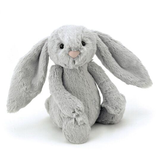 Medium Bashful Silver Bunny