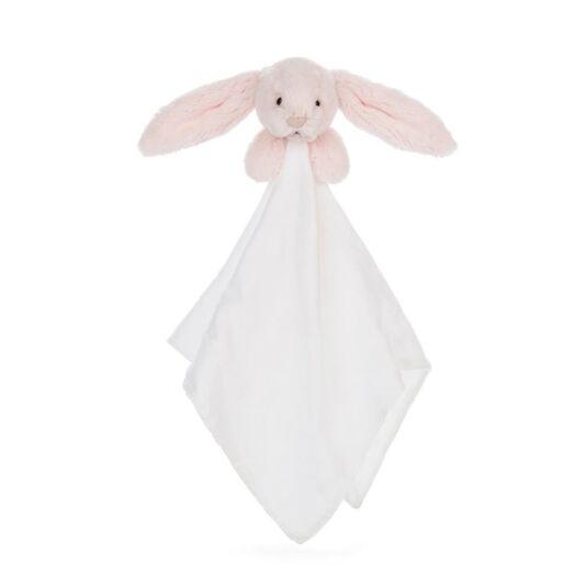 Bashful Pink Bunny Muslin Soother