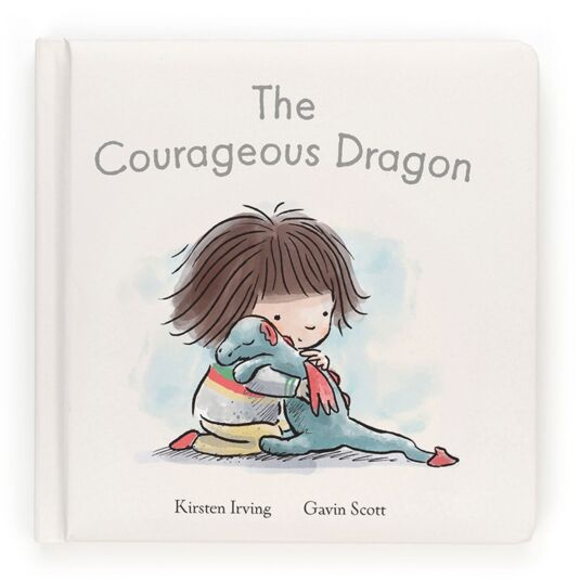 The Courageous Dragon Hardback Book