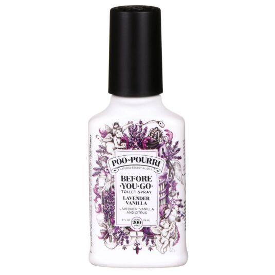 Lavender Vanilla 4oz Toilet Spray