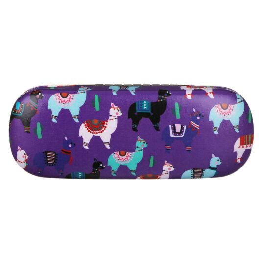 Drama Llama Purple Glasses Case