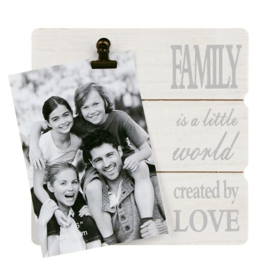 Family Message Clip Frame