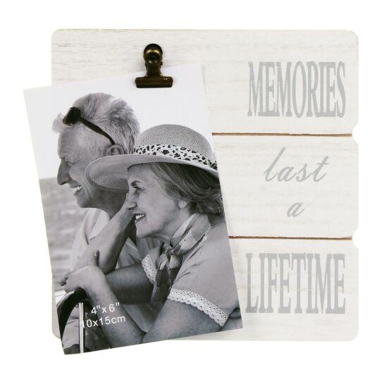 Memories Message Clip Frame