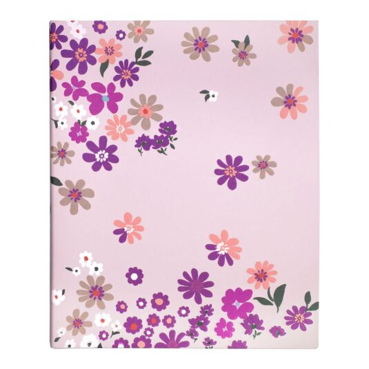 Pacific Petals Concealed Spiral Notebook