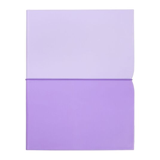 Lilac Plunge Notebook Folio