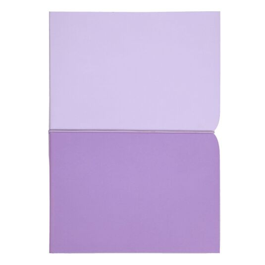 Lilac Plunge Notebook