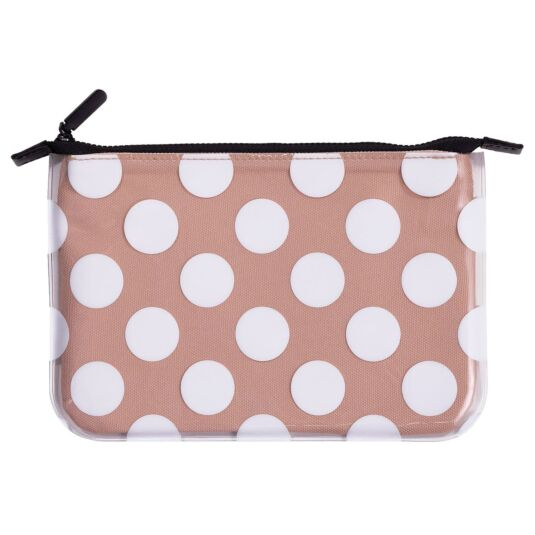 Jumbo Dot Filled Pencil Pouch