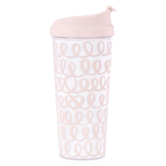 Heart Knot Bridal Thermal Mug