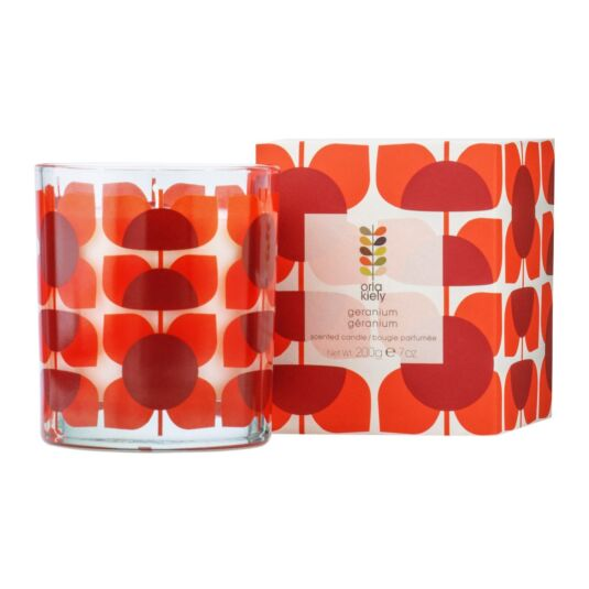 Geranium Boxed Scented Candle