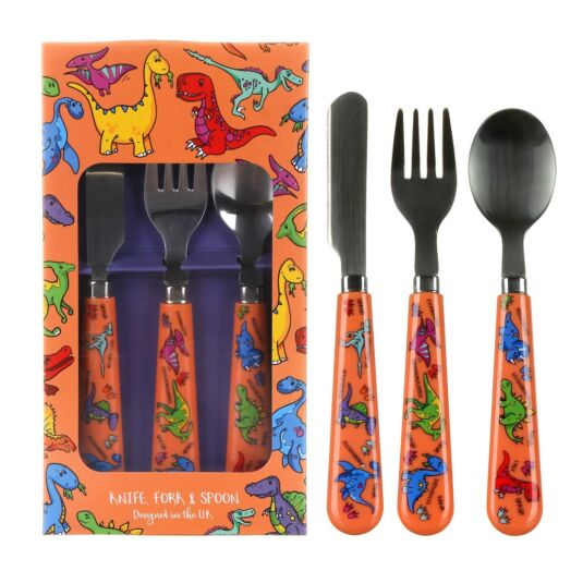 Dinosaurs Cutlery Set